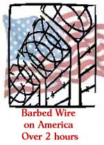 Barbed Wire On America